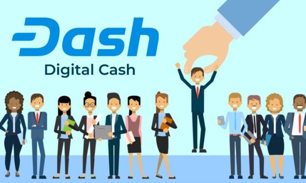 Dash Core se lance dans un recrutement agressif 2018 pour s'agrandir
