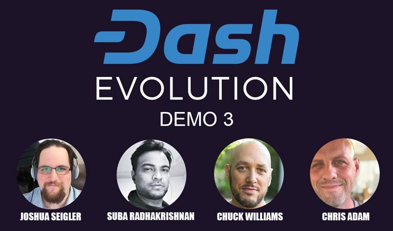 Dash Core Releases Third Evolution Demo, Platform Begins to Take Shape