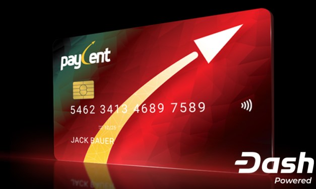 Paycent ajoute Dash à la plateforme, en plus d'un échange de monnaies classiques et des cartes de crédit