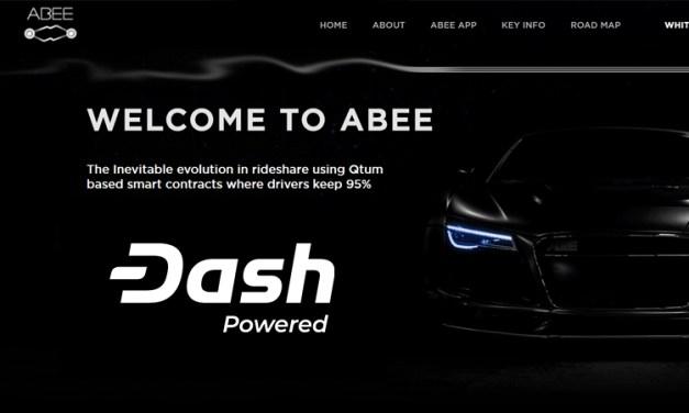 Ridesharing-Plattform ABEE integriert Dash