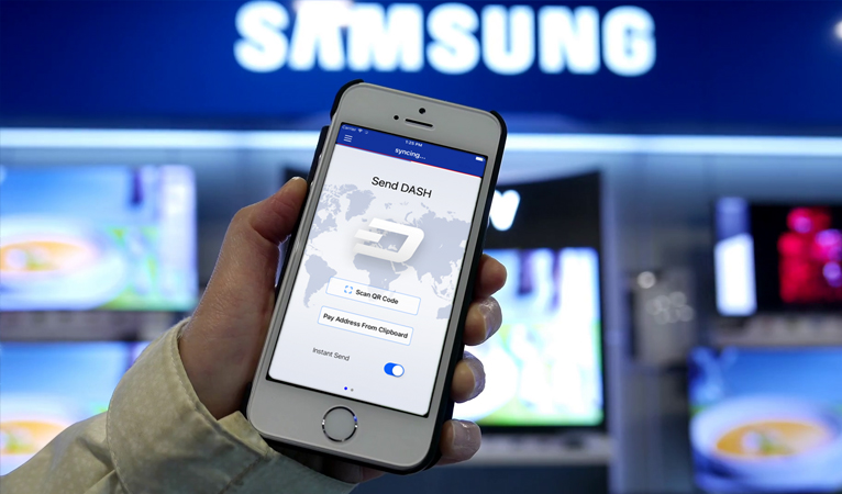 Samsung To Accept Cryptocurrency Payments, Including Dash