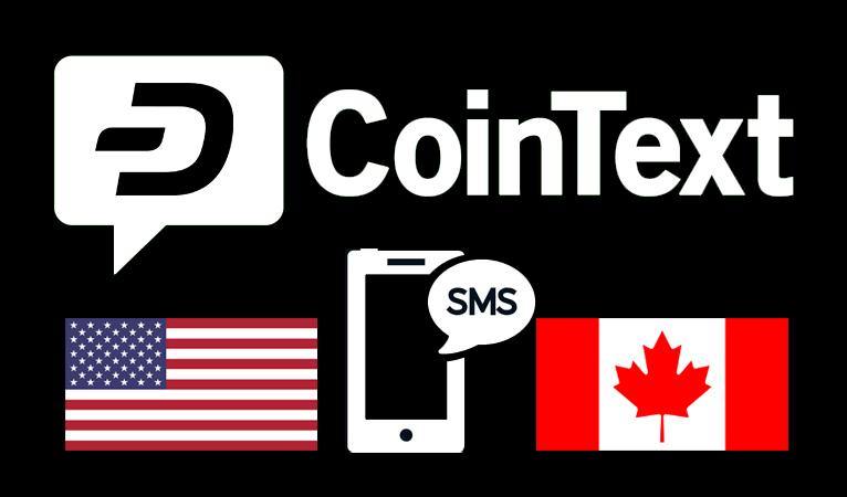 CoinText, Carteira SMS de Bitcoin Cash, Adiciona Dash