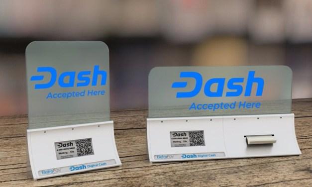 EletroPay, ein neues Dash POS-System mit Anzeigentafel