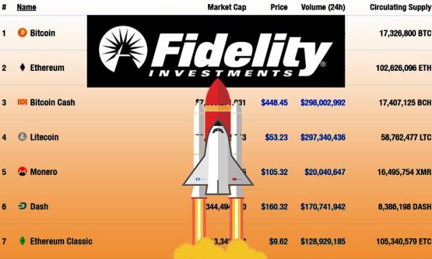 Fidelity startet neuen Depotdienst für institutionelle Kryptowährungsinvestoren