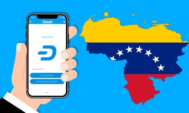 Número de Comerciantes Aceitando Dash na Venezuela passa de 2 500 ao Mesmo Tempo que o País Conquista 1º Lugar em Downloads de Carteiras