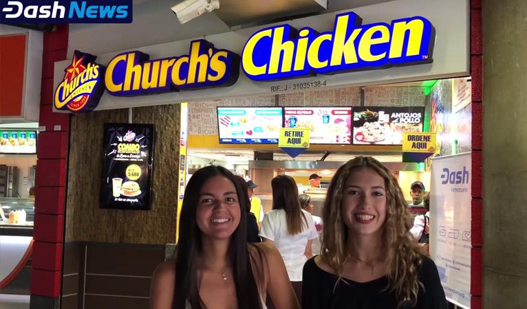 Church's Chicken Venezuela offre une promotion spéciale pour tout paiement en Dash