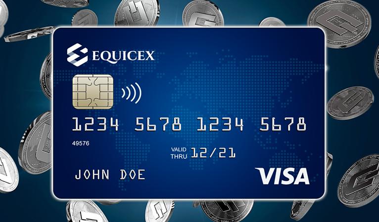 Equicex integriert Dash in eine Debitkarte und eine Börse