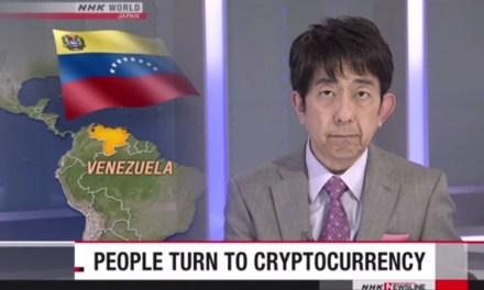 NHK, les nouvelles japonaises parlent du Venezuela et de Dash