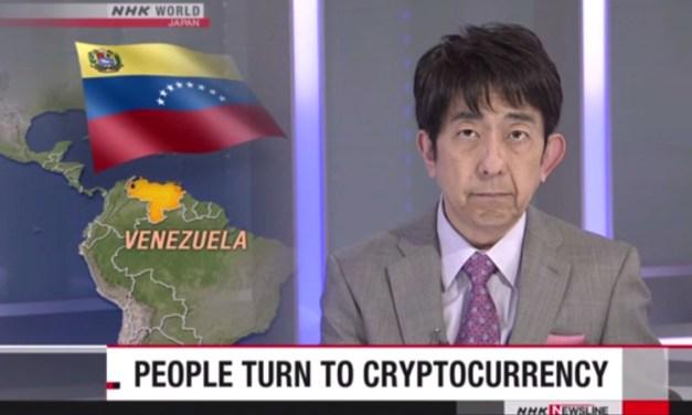 Japanischer Rundfunk NHK berichtet über Dash in Venezuela