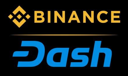 Casa de Câmbio de Elite Binance Adiciona Novos Pares de Negociação com Dash