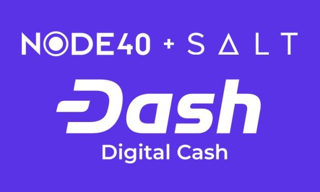 SALT erweitert Dash Lending durch Partnerschaft mit NODE40