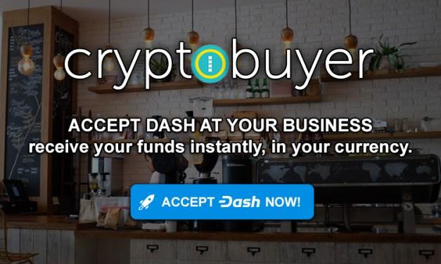 Le PDG de Cryptobuyer planifie des solutions marchandes sans frais pour une adoption massive de Dash