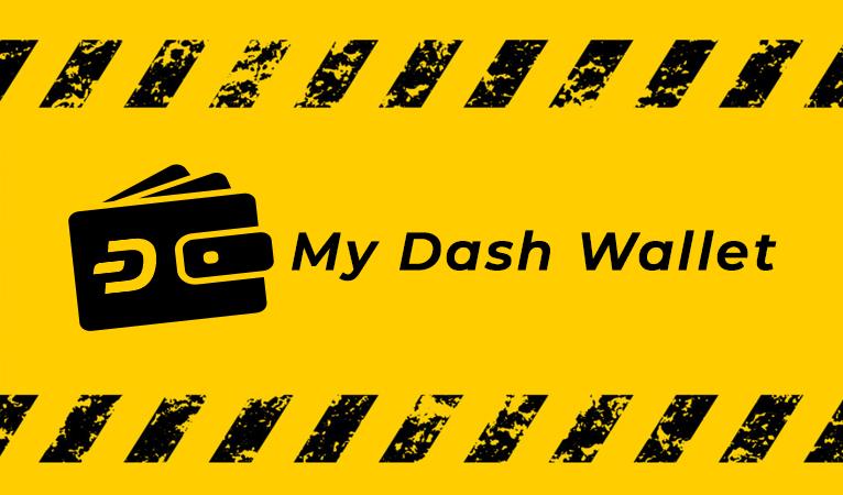 Le portefeuille MyDashWallet compromis
