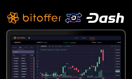 Cryptocurrency Exchange Bitoffer Adds Dash With InstantSend Support