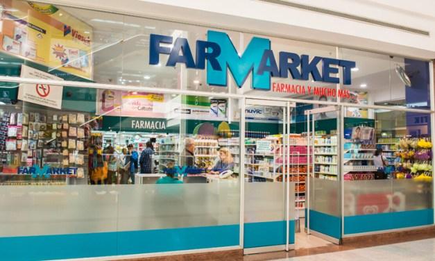 O Dash foi Integrado na Franquia Venezuelana de Farmácias Farmarket