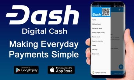 Dash iOS Wallet integriert Uphold als Fiat-Gateway ohne Abbuchungsgebühren