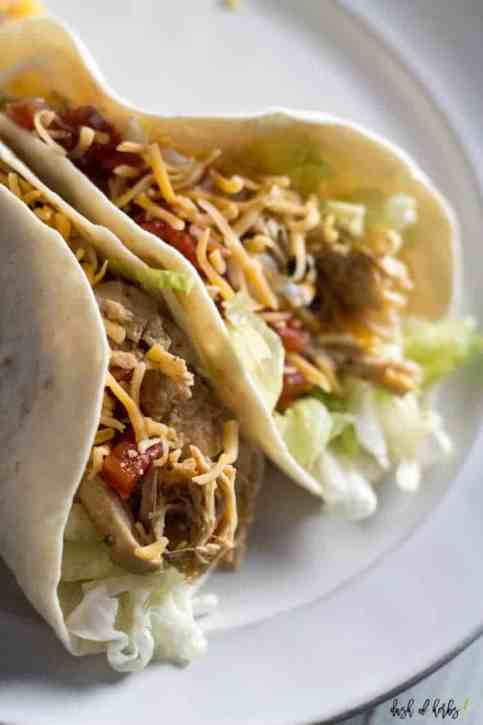 Instant Pot Chipotle Chicken Tacos