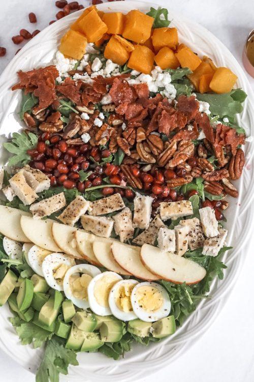 Fall Cobb Salad