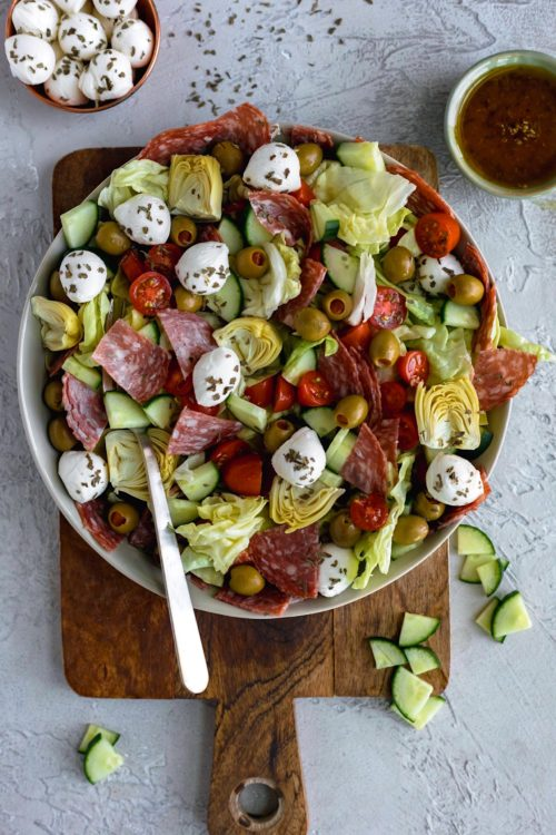 Antipasto Salad - Dash of Mandi