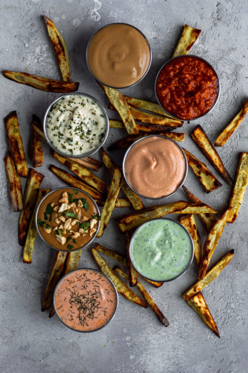 7 easy dipping sauces - Dash of Mandi