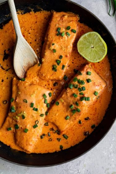Harissa Salmon - Dash Of Mandi