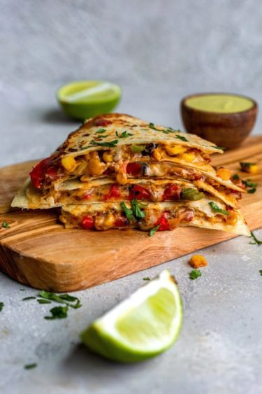 Easy Quesadilla- Dash Of Mandi