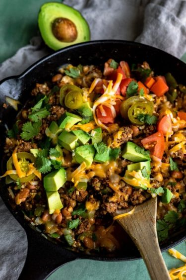 Loaded Taco Skillet - Dash Of Mandi