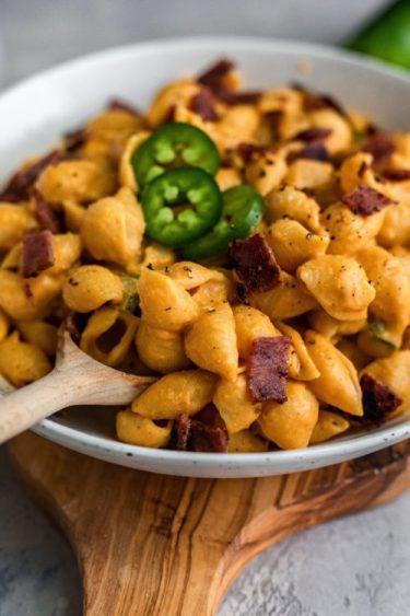 Dairy Free Jalapeno Mac And Cheese - Dash Of Mandi