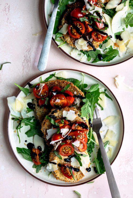 Air Fryer Eggplant Milanese Recipe Air Fried Eggplant Milanese