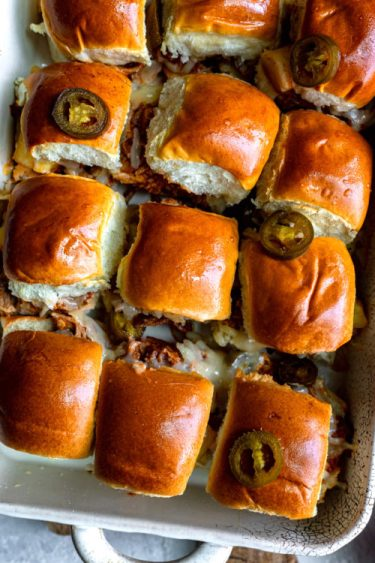 Pulled Pork BBQ Sliders - Dash Of Mandi