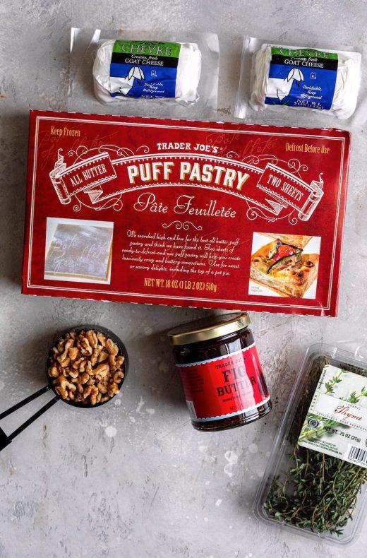 Fig Butter Bites Using Trader Joe's Ingredients