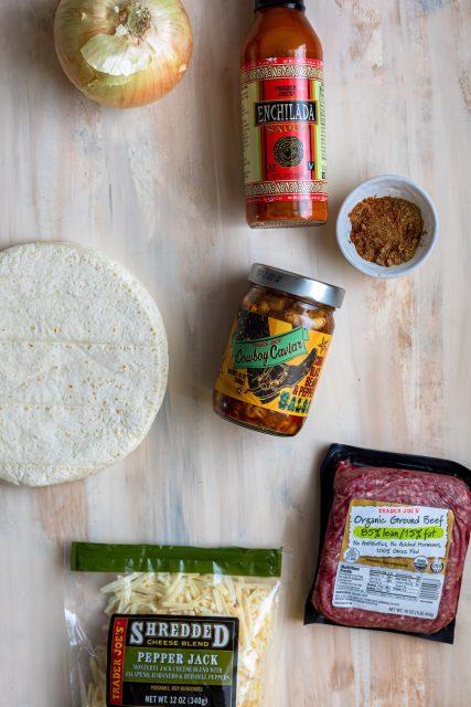 Cowboy Caviar Casserole Ingredients