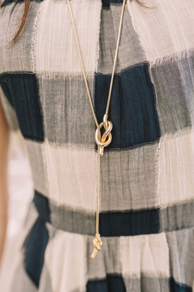 Madewell Necklace-Holiday style- Miami fashion blogger- Dress under $100