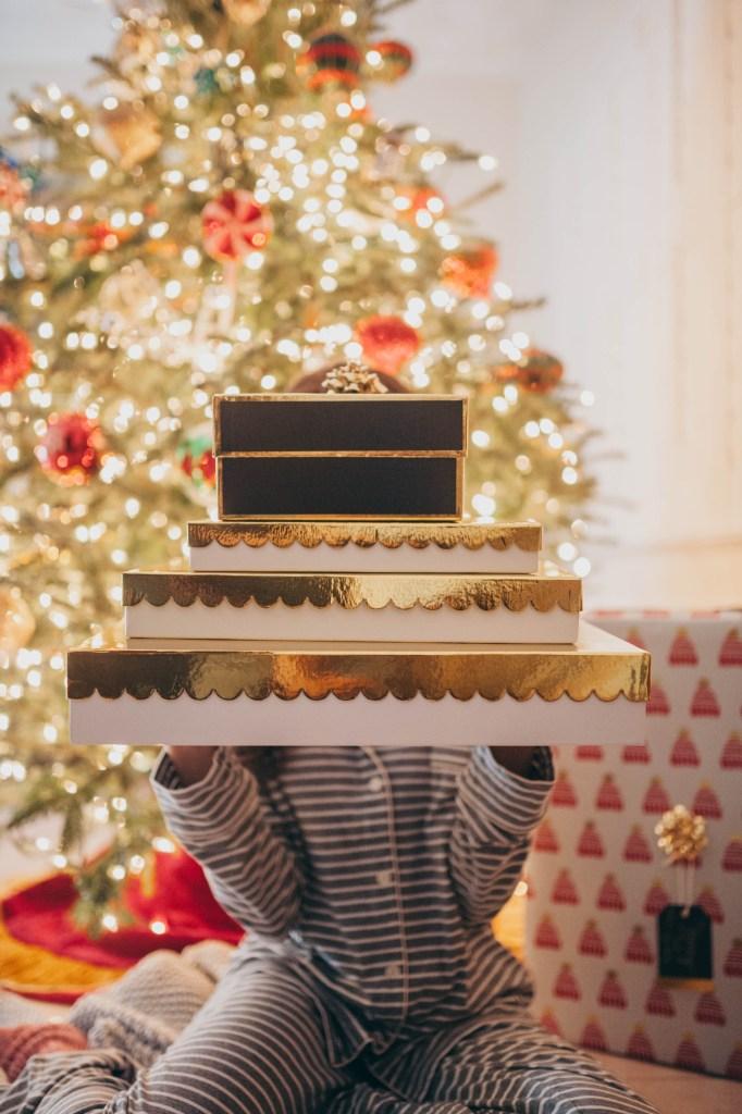 Christmas Pajamas - Sugar Paper Wrapping- J.Crew - Miami Fashion Blogger