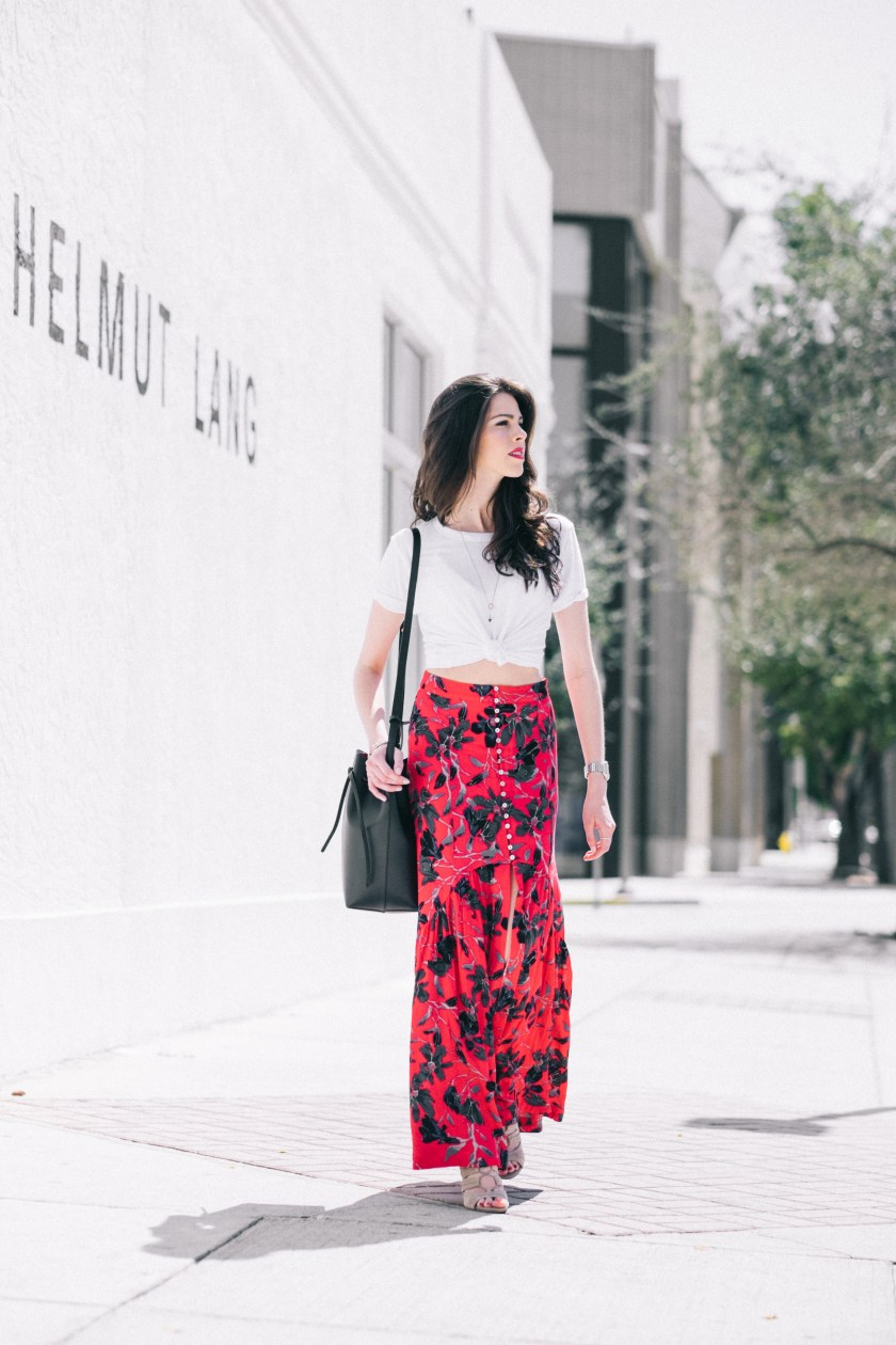Free People skirt- miami fashion blogger-spring style