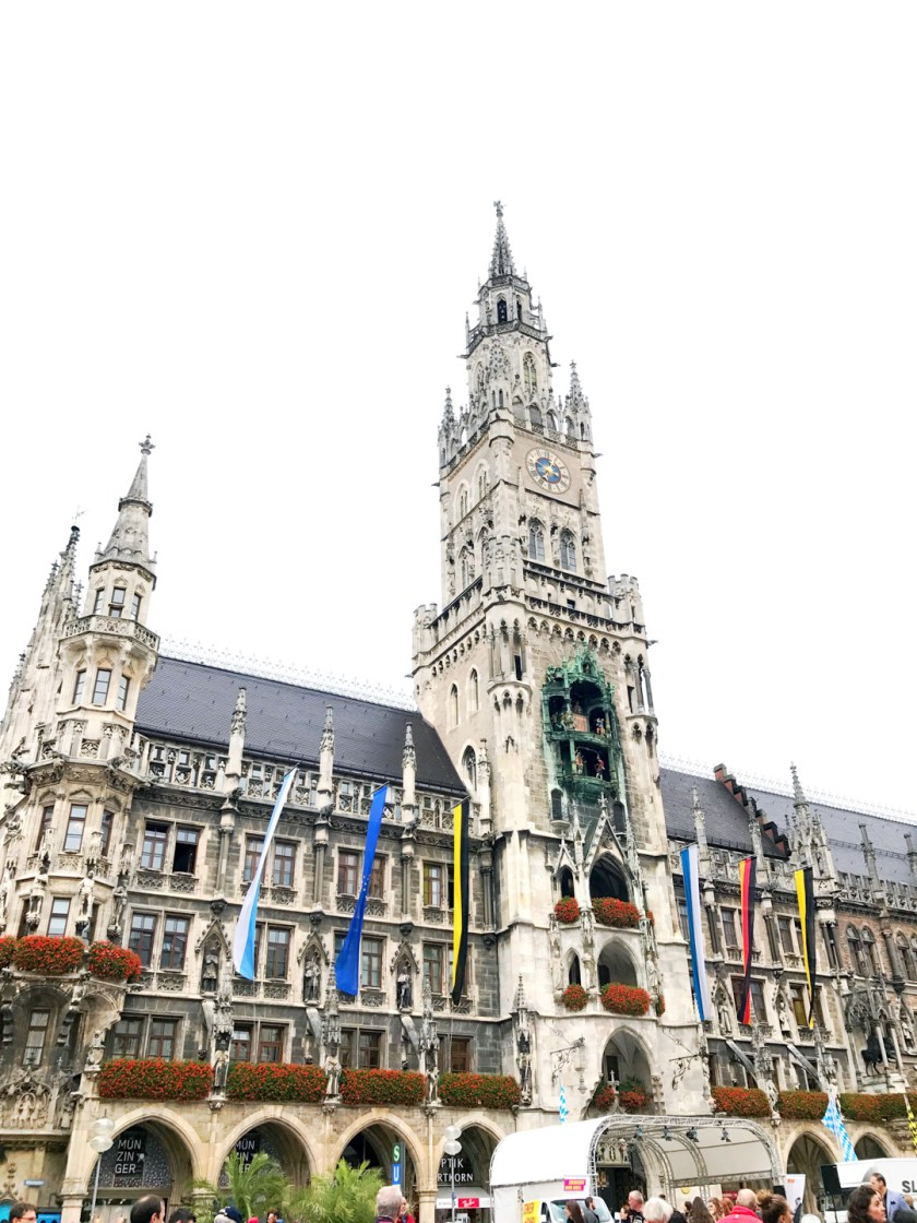 Marienplatz in Munich Germany