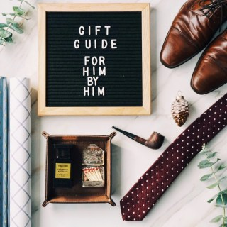 Gift Guide For Him By Him