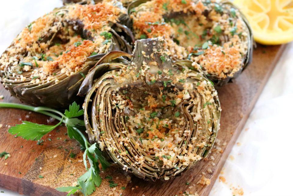 Roasted Artichokes