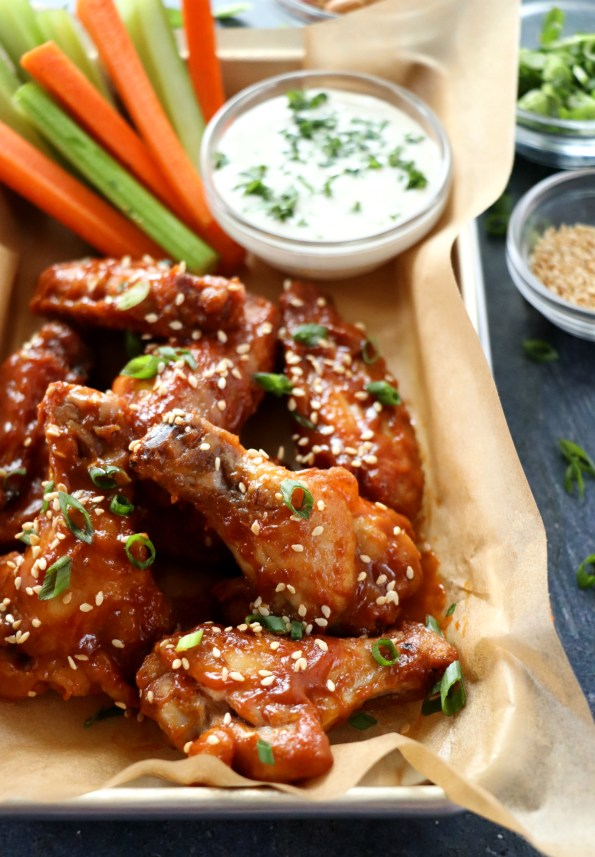 Baked Thai Peanut Wings