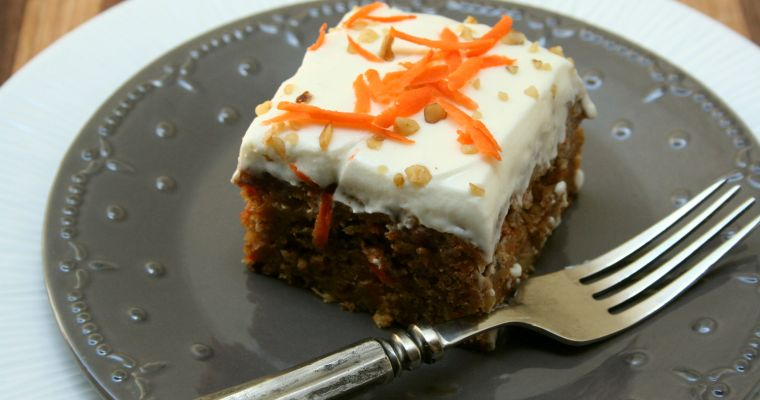 Pineapple Rum Carrot Cake
