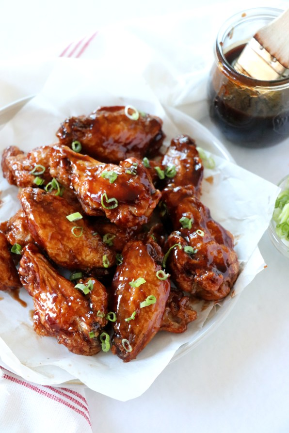 Balsamic BBQ Chicken Wings