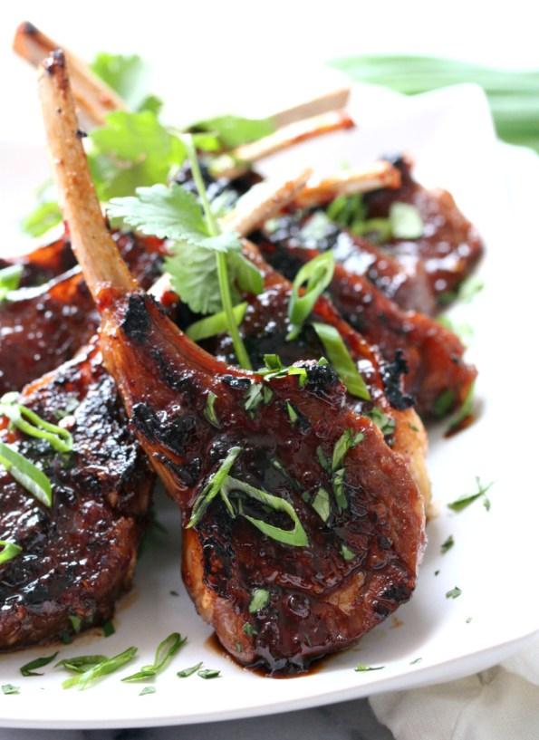 Asian Lamb Lollipops