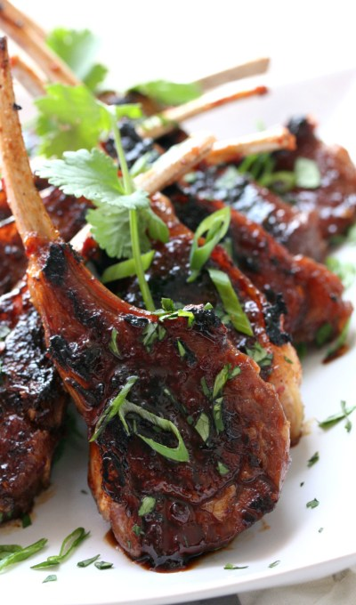 Asian Lamb Lollipops