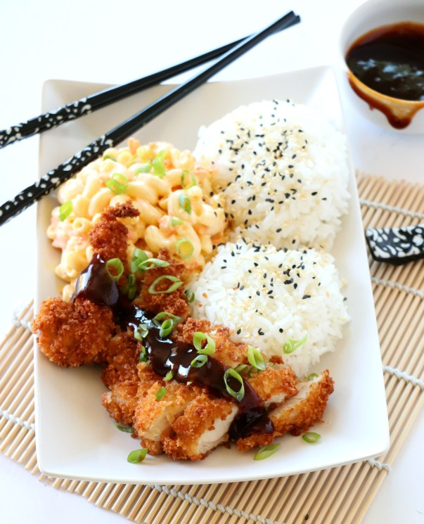 Hawaiian Style Chicken Katsu