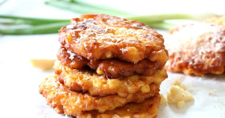 Parmesan Corn Fritters