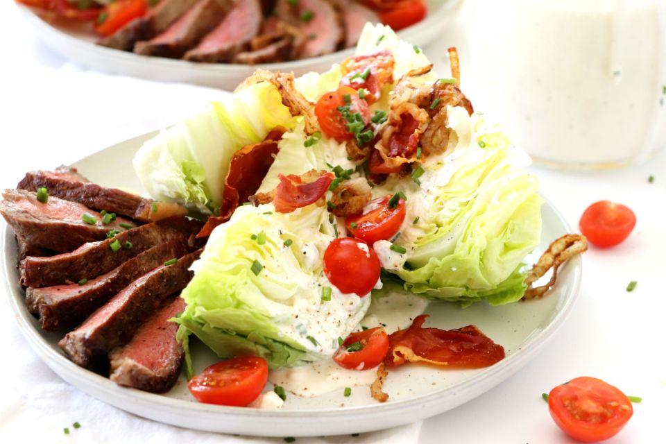 Steakhouse Wedge Salad