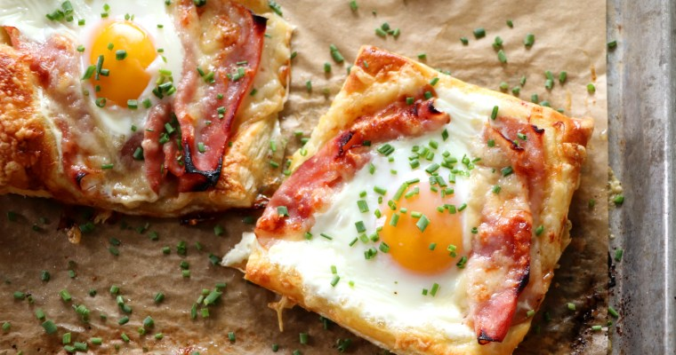 Puff Pastry Croque Madame