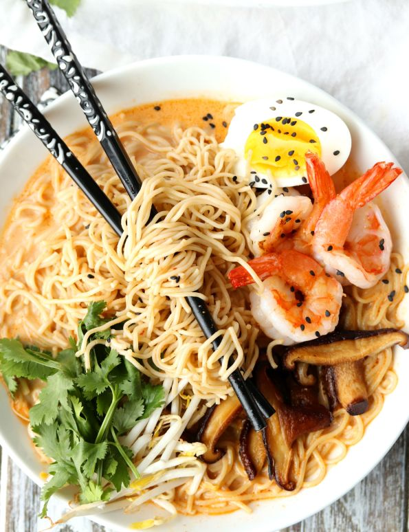 Red Curry Coconut Ramen