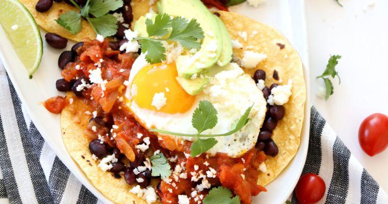 Huevos Rancheros with Spicy Mexican Tomato Jam