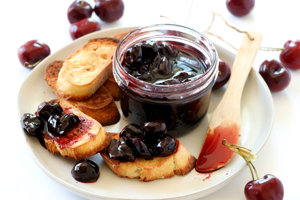 Cherry Wine Compote